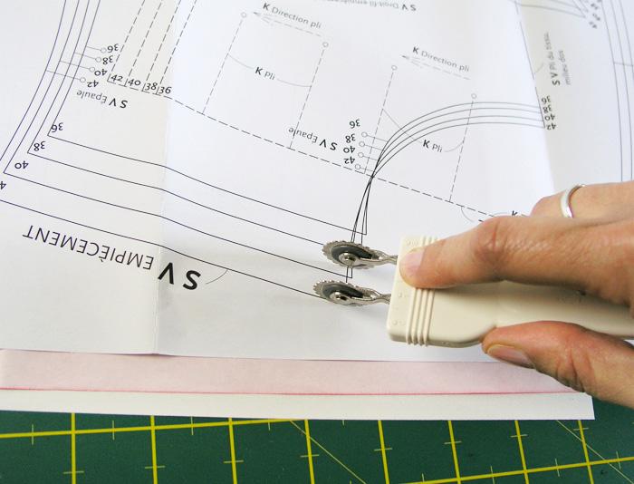 Repaso de la talla deseada con el margen de costura | Betsy Costura