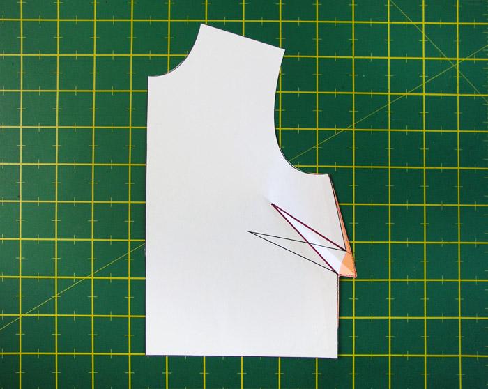 Nuevo patrón con pinza modificada | Betsy Costura