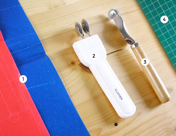 Tipos de ruletas para patronaje y marcado | Betsy Costura