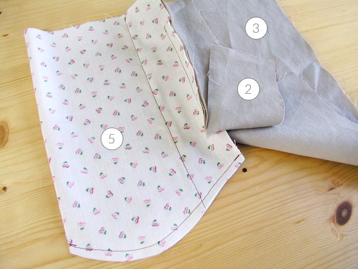 Acabar la costura francesa del fondo del bolsilloHacer costura francesa en el fondo de bolsillo | Betsy Costura