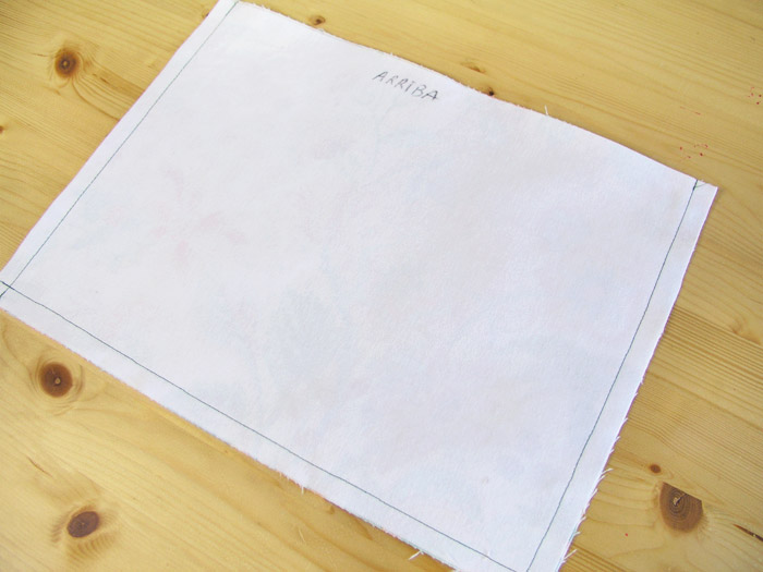 Coser la pieza exterior de la cesta de tejido | Betsy Costura