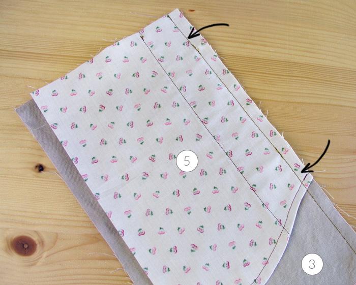 Cerrar la costura lateral de la prenda | Betsy Costura