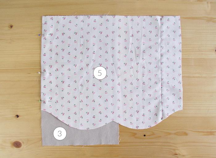 Colocar el delantero con el forro del bolsillo | Betsy Costura