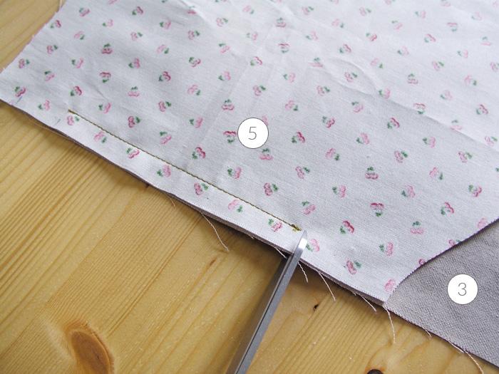 Hacer dos cortes en los límites del pespunte anterior | Betsy Costura