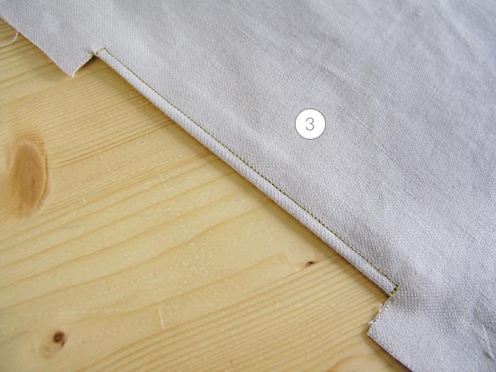 Hacer un pespunte en la abertura frontal del bolsillo | Betsy Costura