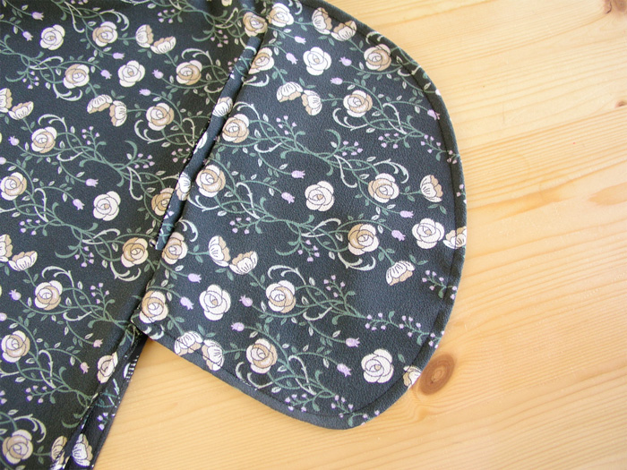 Bolsillo lateral vestido premamá Burda | Betsy Costura