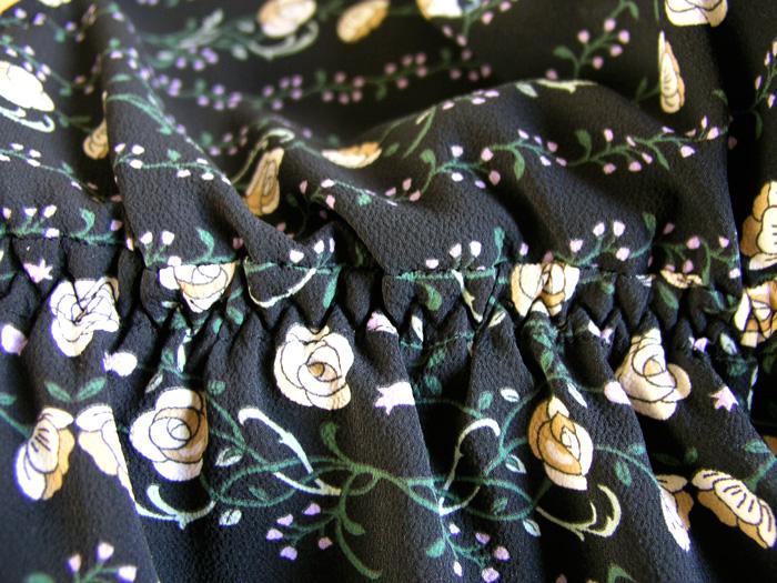 Detalle fruncido vestido premáma Burda | Betsy Costura