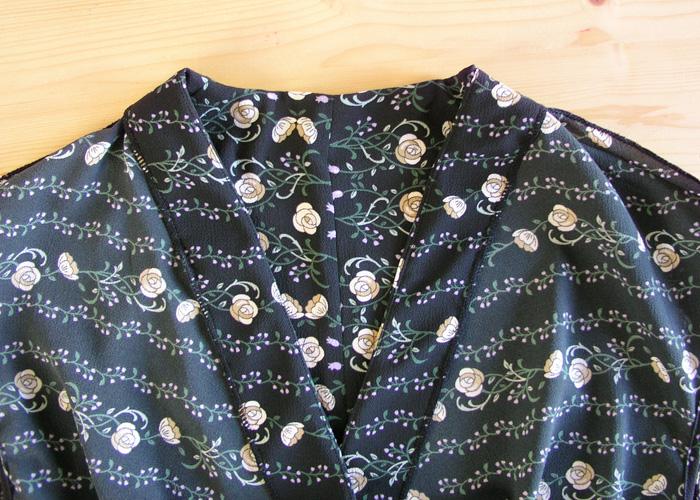 Vista interior vestido premamá Burda | Betsy Costura