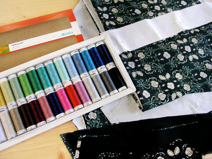 Hilos Metler para coser vestido premamá Burda | Betsy Costura