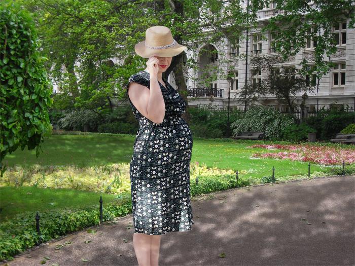 Vestido Burda premamá | Betsy Costura